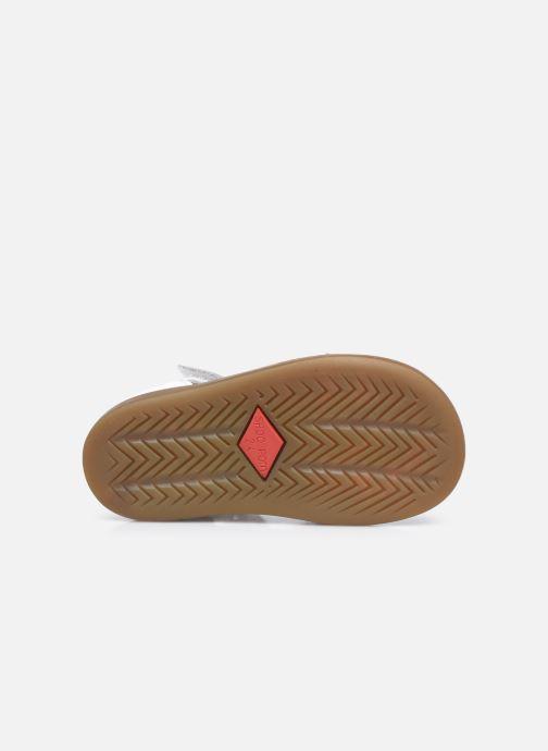 Sandali e scarpe aperte Shoo Pom Tity Rainbow Bianco immagine dall'alto