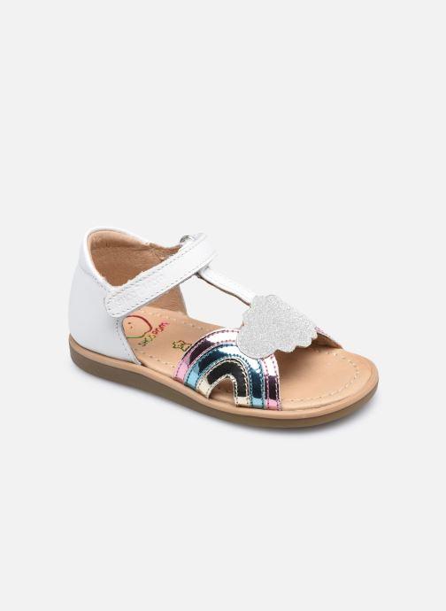 Sandali e scarpe aperte Shoo Pom Tity Rainbow Bianco vedi dettaglio/paio