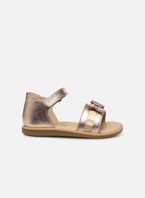 Sandali e scarpe aperte Shoo Pom Tity Knot Oro e bronzo immagine posteriore