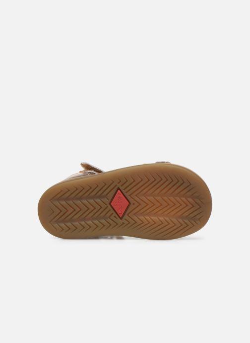 Sandali e scarpe aperte Shoo Pom Tity Knot Oro e bronzo immagine dall'alto