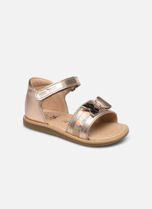 Sandali e scarpe aperte Shoo Pom Tity Knot Oro e bronzo vedi dettaglio/paio