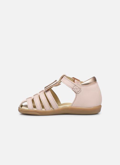 Sandales et nu-pieds Shoo Pom Pika Knot Rose vue face