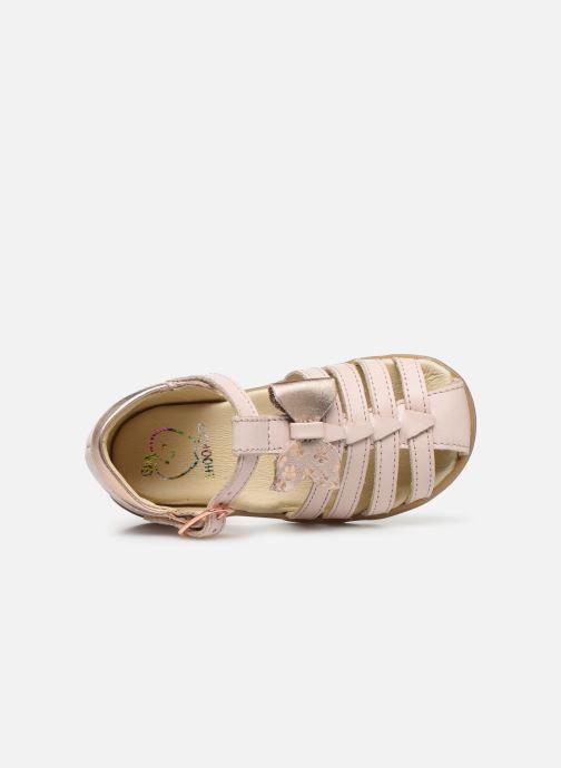 Sandales et nu-pieds Shoo Pom Pika Knot Rose vue gauche