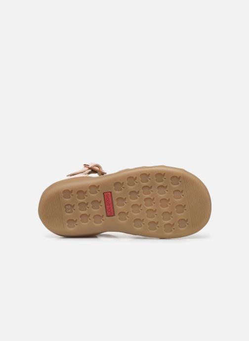 Sandales et nu-pieds Shoo Pom Pika Knot Rose vue haut