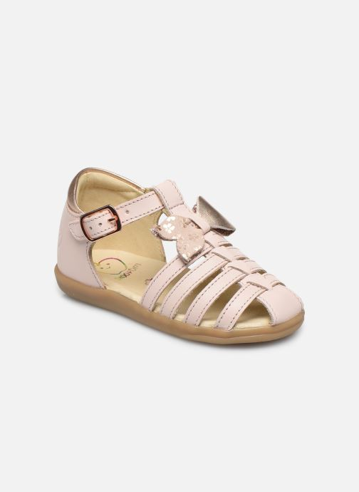 Sandales et nu-pieds Shoo Pom Pika Knot Rose vue détail/paire