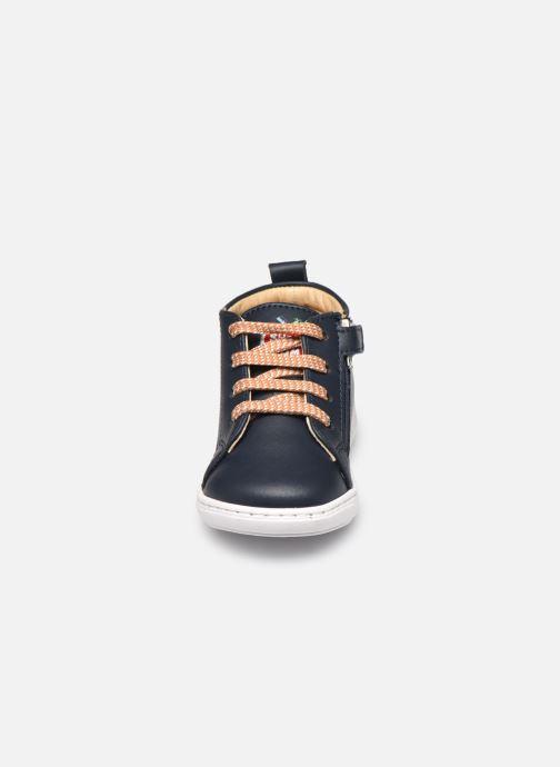 Bottines et boots Shoo Pom Bouba Veg Bleu vue portées chaussures