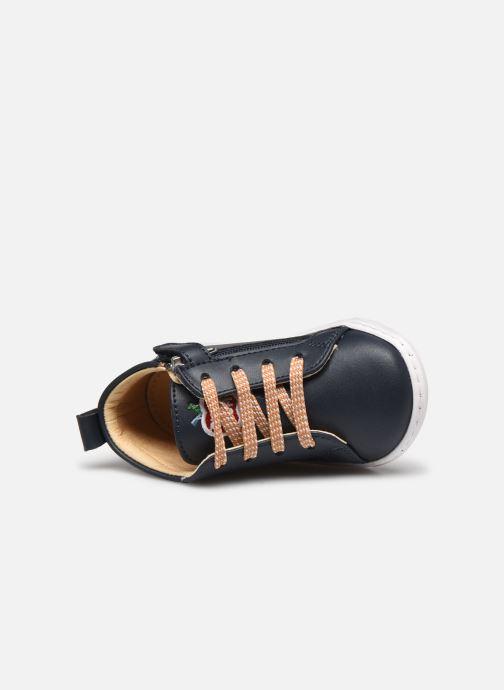 Bottines et boots Shoo Pom Bouba Veg Bleu vue gauche