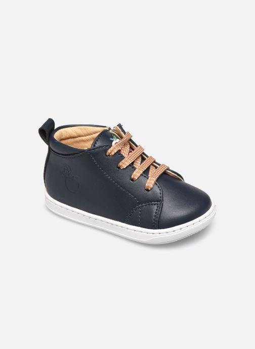 Bottines et boots Shoo Pom Bouba Veg Bleu vue détail/paire