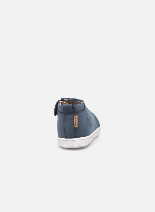 Bottines et boots Shoo Pom Bouba Veg Bleu vue droite
