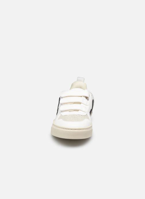 Sneaker Veja Small V-10 Velcro schwarz schuhe getragen