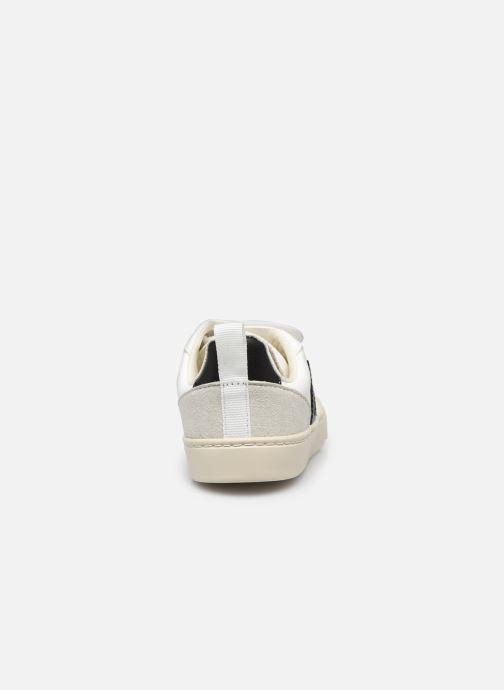 Sneaker Veja Small V-10 Velcro schwarz ansicht von rechts