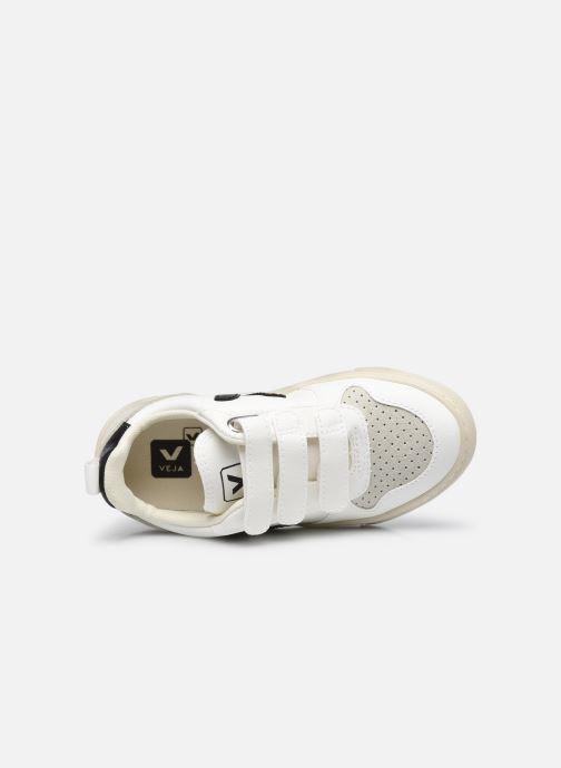 Sneaker Veja Small V-10 Velcro schwarz ansicht von links