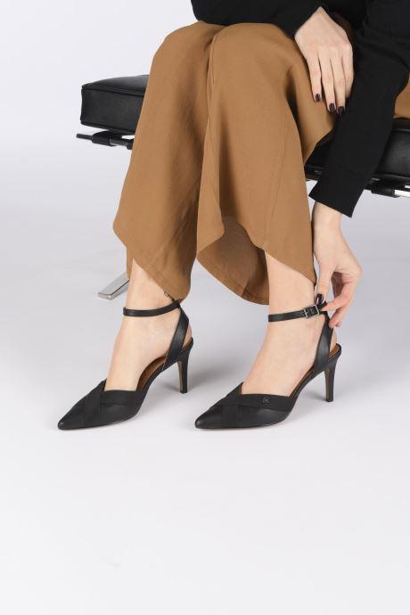 High heels Chattawak DALIA Black view from underneath / model view