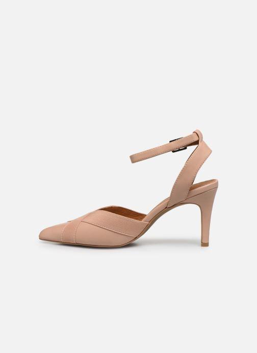 Zapatos de tacón Chattawak DALIA Rosa vista de frente