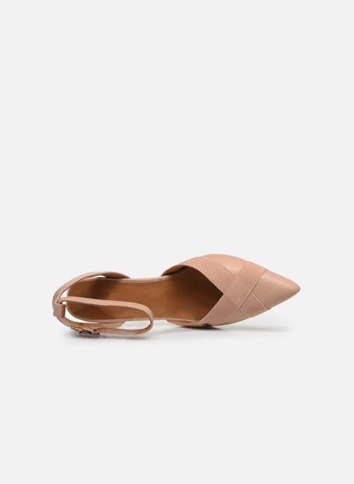Zapatos de tacón Chattawak DALIA Rosa vista lateral izquierda