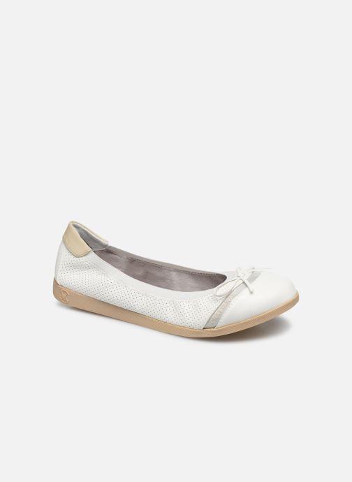Bailarinas Chattawak ELOISE Blanco vista de detalle / par