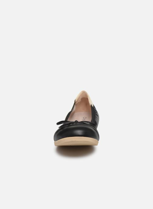 Ballerines Chattawak ELOISE Noir vue portées chaussures