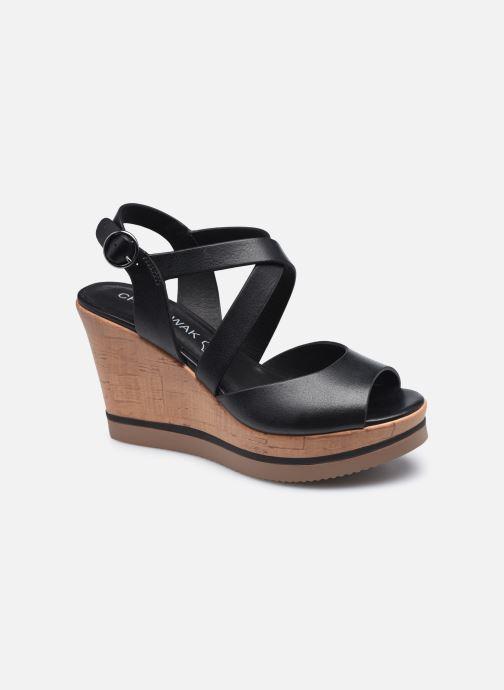 Sandales et nu-pieds Chattawak HELOISA Noir vue détail/paire