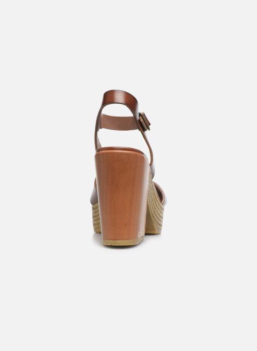 Sandali e scarpe aperte Chattawak HORTENSE Marrone immagine destra