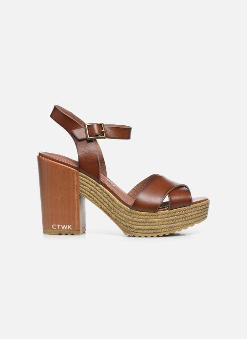 Sandali e scarpe aperte Chattawak HORTENSE Marrone immagine posteriore