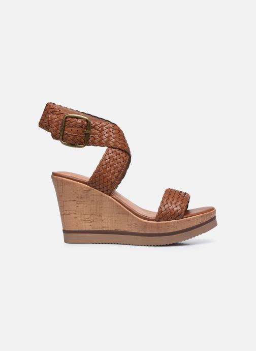 Sandales et nu-pieds Chattawak JANE Marron vue derrière