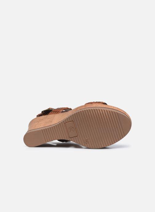 Sandales et nu-pieds Chattawak JANE Marron vue haut