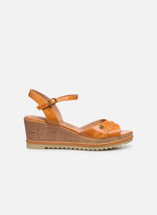 Sandales et nu-pieds Chattawak JODY Jaune vue derrière