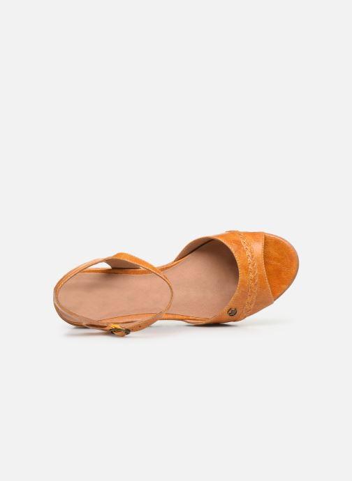 Sandales et nu-pieds Chattawak JODY Jaune vue gauche