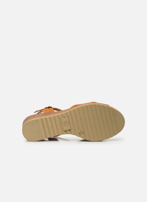 Sandales et nu-pieds Chattawak JODY Jaune vue haut
