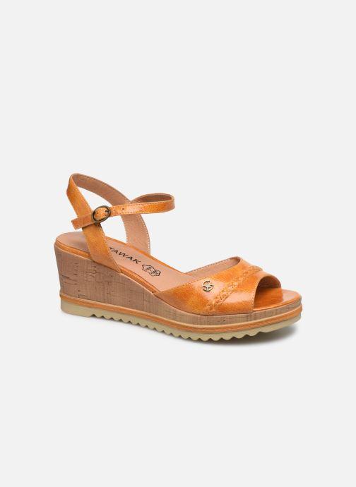 Sandales et nu-pieds Chattawak JODY Jaune vue détail/paire