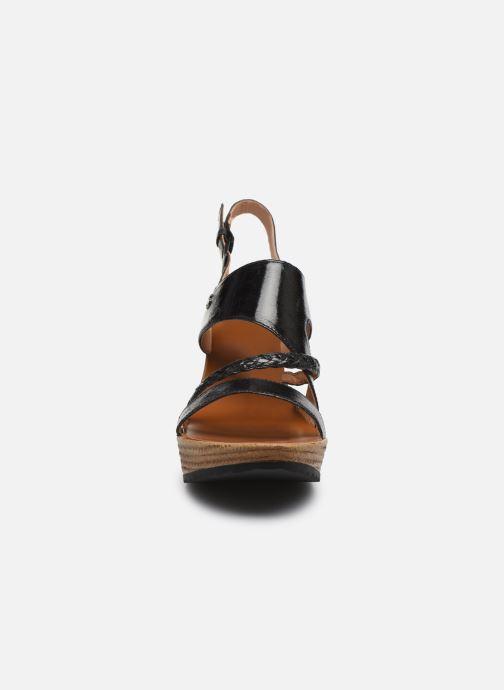 Sandalen Chattawak JULIETTE schwarz schuhe getragen