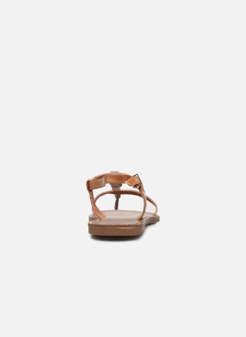 Sandales et nu-pieds Chattawak LUCINDA Marron vue droite