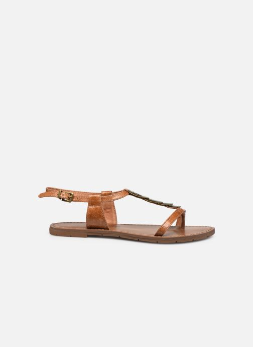 Sandales et nu-pieds Chattawak LUCINDA Marron vue derrière