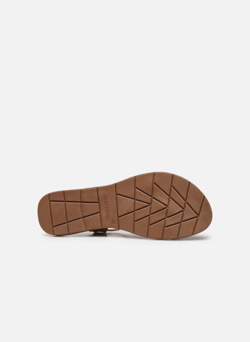 Sandales et nu-pieds Chattawak LUCINDA Marron vue haut