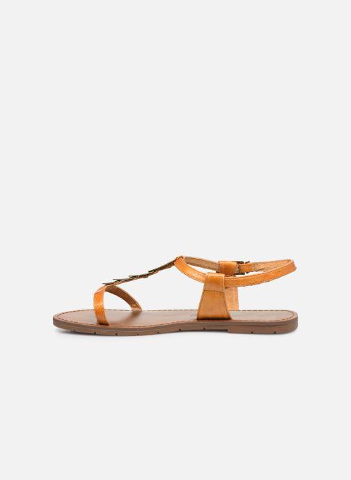 Sandales et nu-pieds Chattawak LUCINDA Jaune vue face
