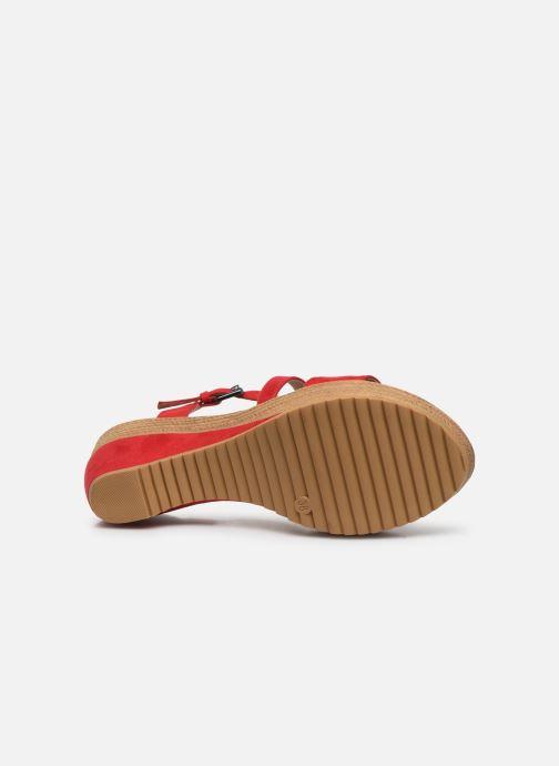 Sandalen Chattawak MAELLE rot ansicht von oben