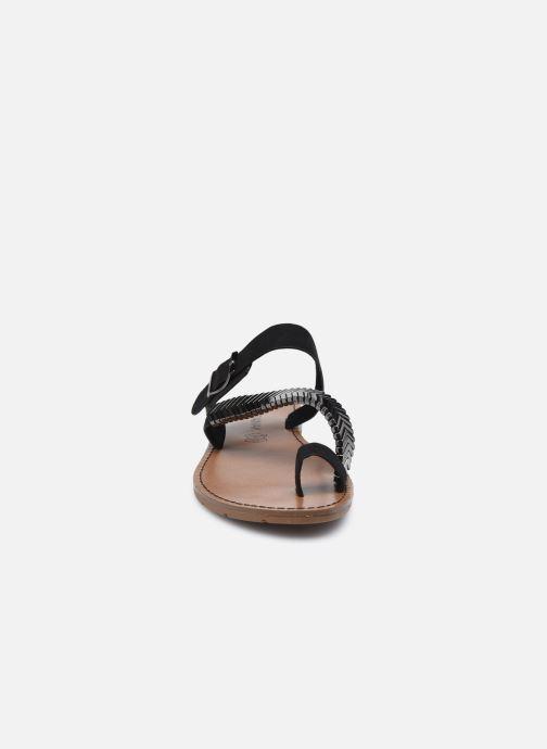 Mules et sabots Chattawak MAGNOLIA Noir vue portées chaussures