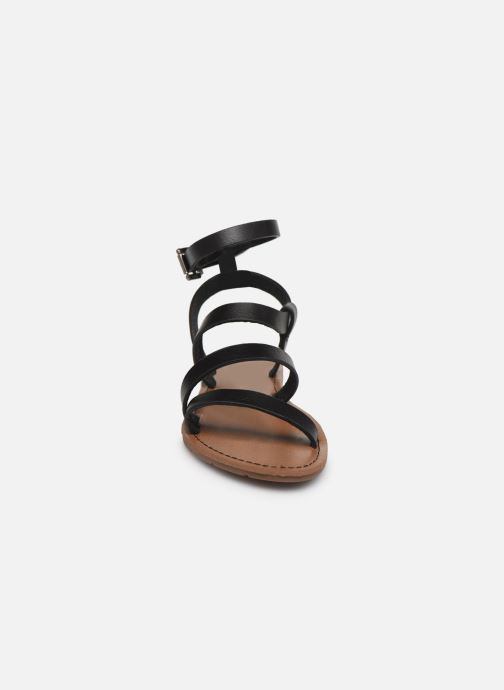 Sandales et nu-pieds Chattawak MALLORY Noir vue portées chaussures