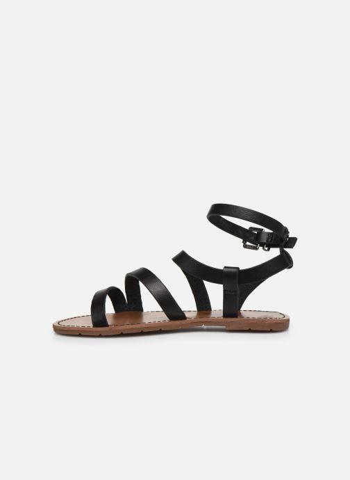 Sandales et nu-pieds Chattawak MALLORY Noir vue face