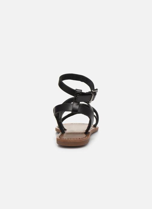 Sandales et nu-pieds Chattawak MALLORY Noir vue droite