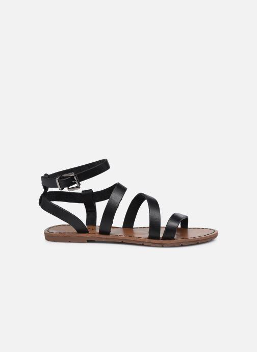 Sandales et nu-pieds Chattawak MALLORY Noir vue derrière
