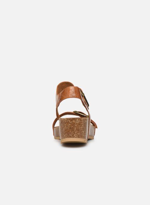 Sandales et nu-pieds Chattawak MARIELLE Marron vue droite