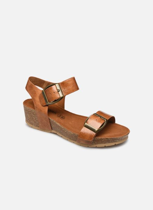 Sandales et nu-pieds Chattawak MARIELLE Marron vue détail/paire