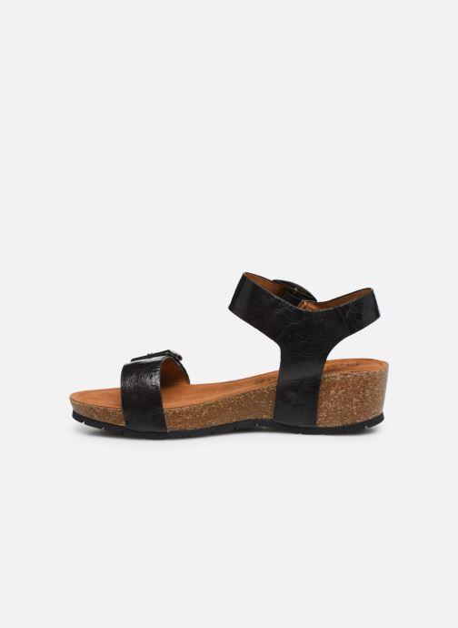 Sandalen Chattawak MARIELLE schwarz ansicht von vorne