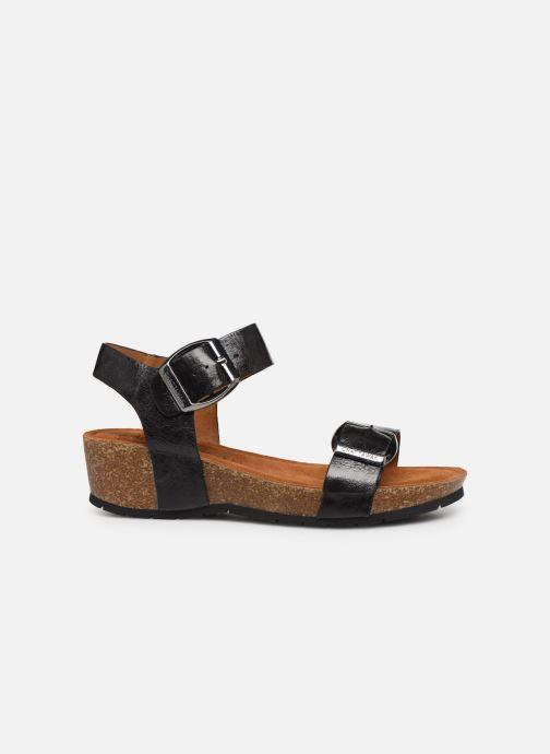 Sandalen Chattawak MARIELLE schwarz ansicht von hinten