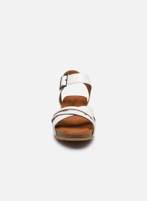 Sandales et nu-pieds Chattawak MEGAN Blanc vue portées chaussures
