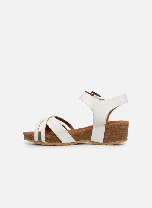 Sandales et nu-pieds Chattawak MEGAN Blanc vue face
