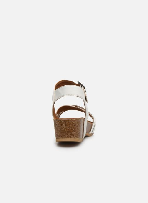 Sandales et nu-pieds Chattawak MEGAN Blanc vue droite