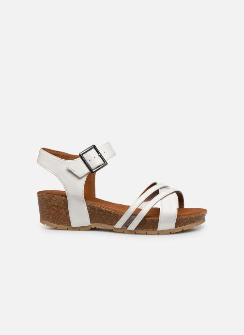 Sandales et nu-pieds Chattawak MEGAN Blanc vue derrière