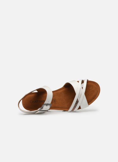Sandales et nu-pieds Chattawak MEGAN Blanc vue gauche